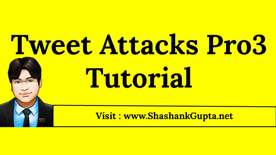 Twitter Marketing Tool - Tweet Attacks Pro Tutorial