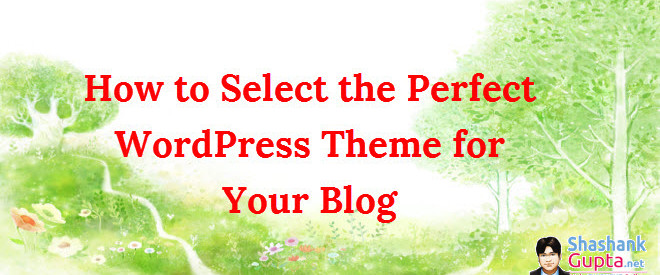 Wordpress-theme-selection