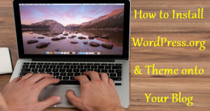 how to install wordpress on your blog