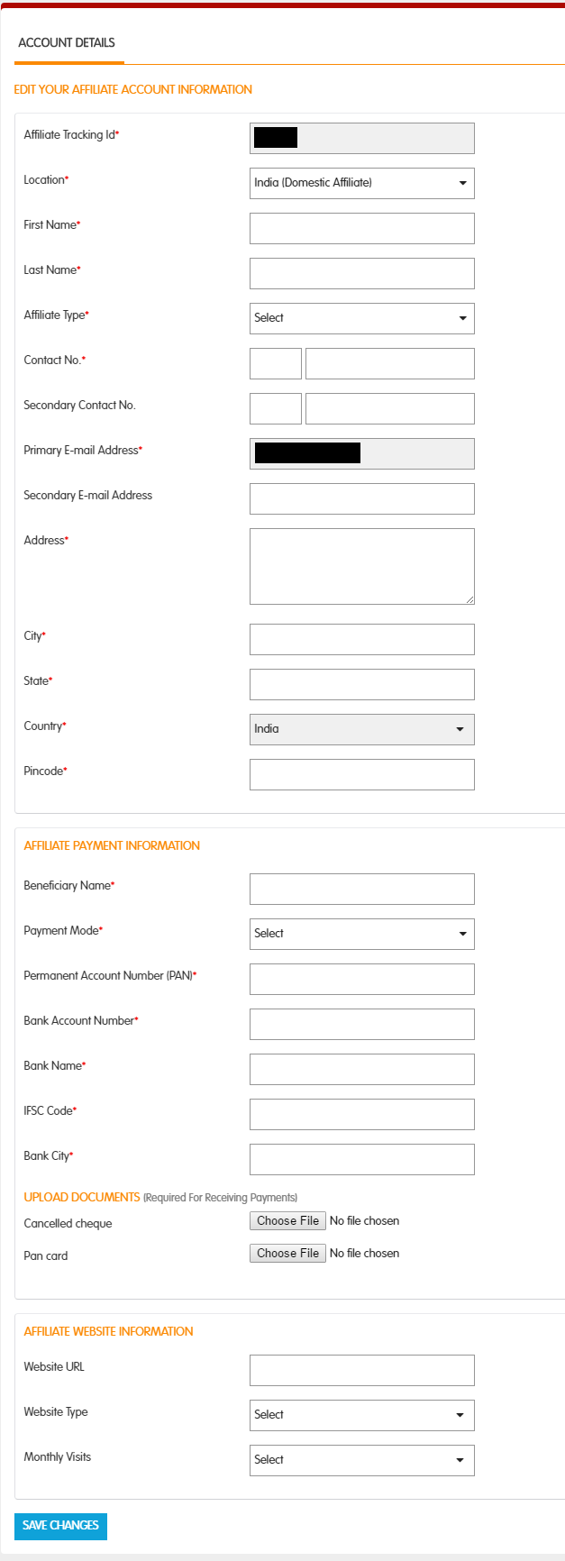 Snapdeal registration